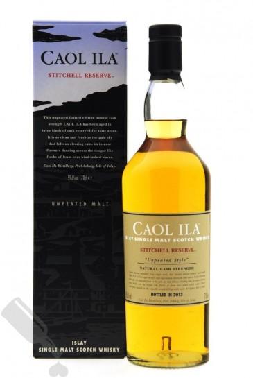 Caol Ila Stitchell Reserve 2013 - Unpeated