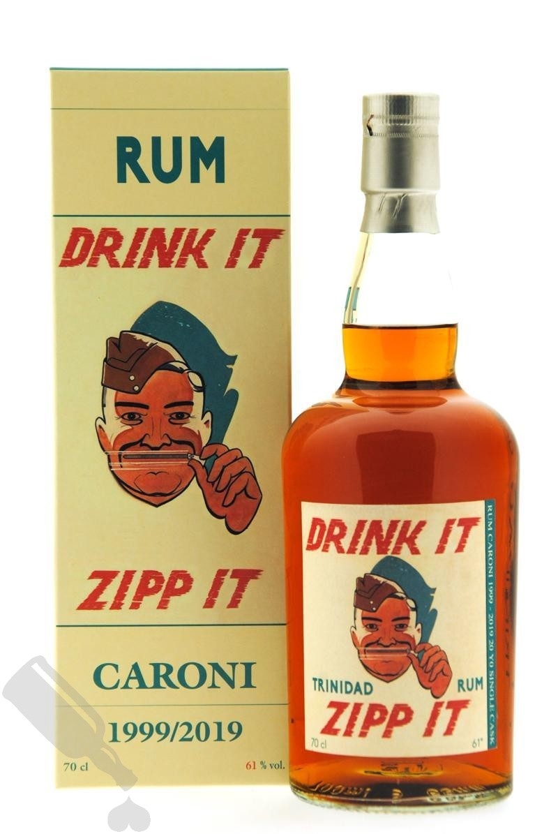 Caroni 20 years 1999 - 2019 Single Cask Bristol for Corman Collins and The Auld Alliance