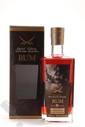 Premium Panamanian Rum 25 years 1992 2017 Pirat Label Sansibar