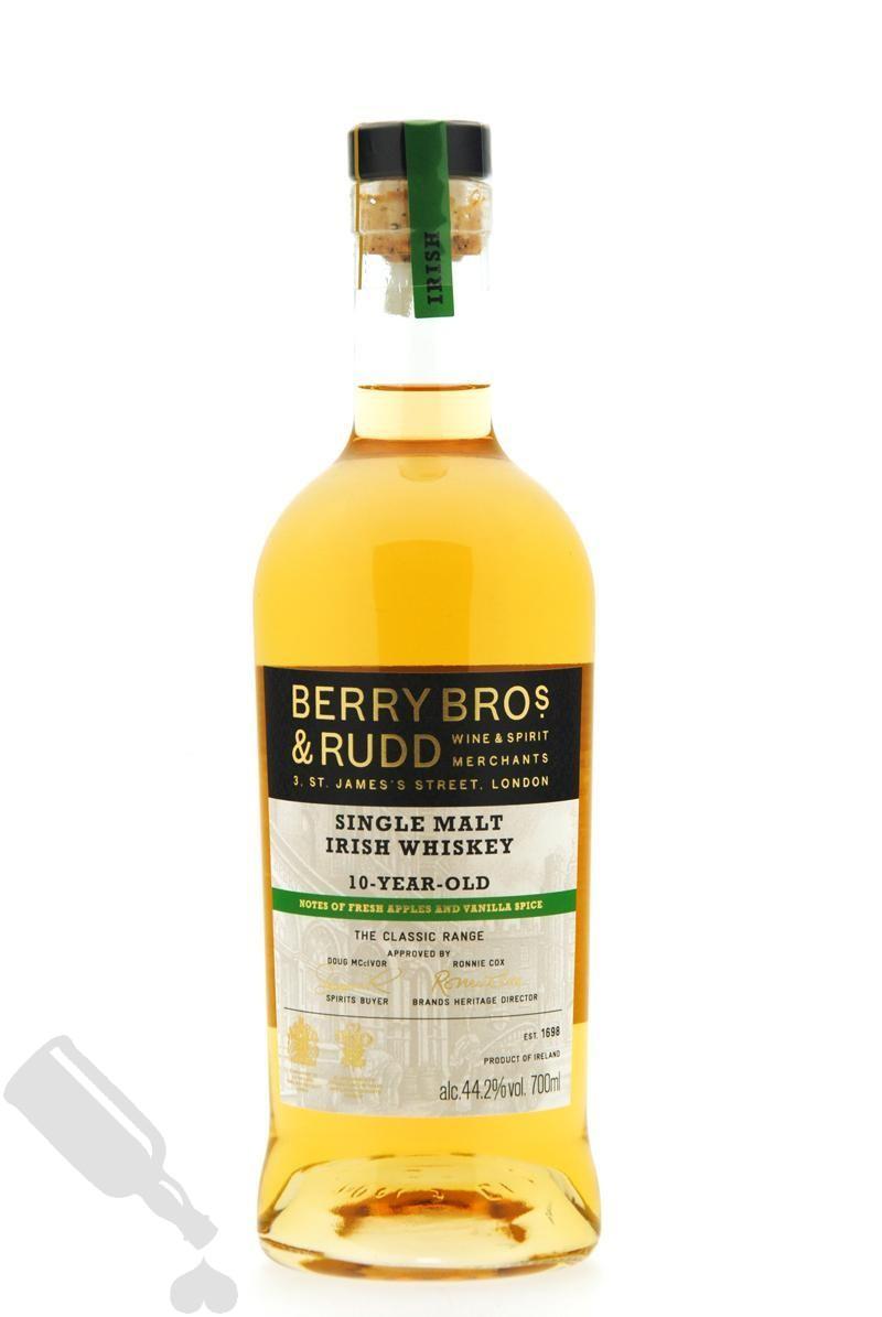 Berry Bros. & Rudd Single Malt Irish Whiskey 10 years