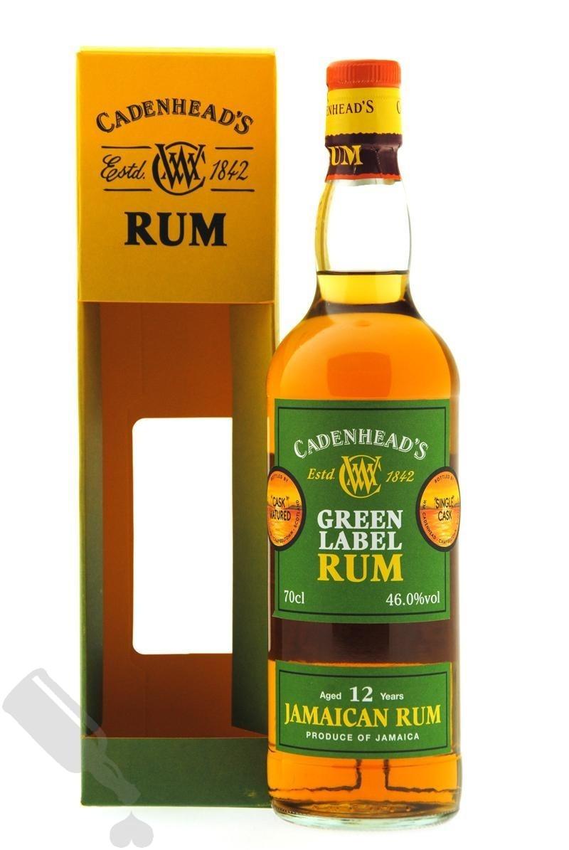 Jamaican Rum 12 years Cadenhead's Green Label