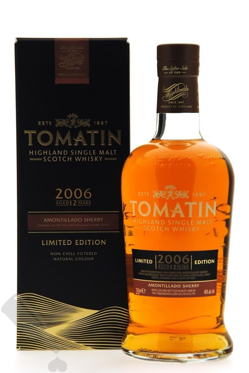 Tomatin 12 years 2006 - 2019 Amontillado Sherry