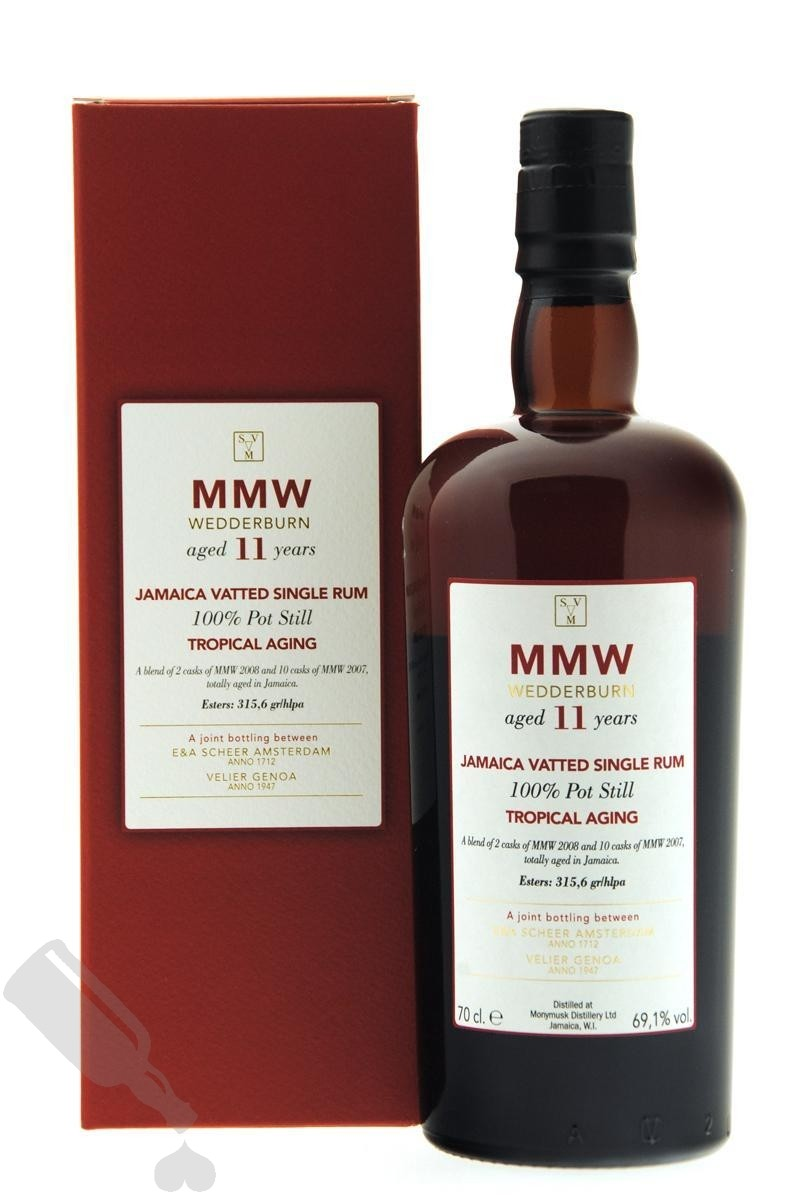 MMW Wedderburn 11 years Tropical Aging Scheer Velier Main Rum