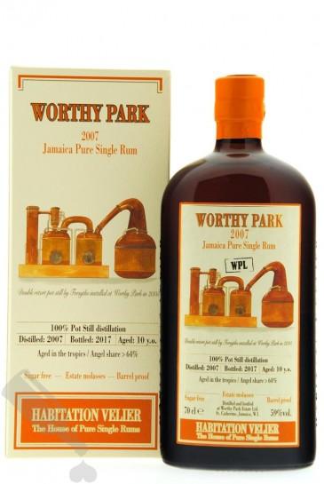 Worthy Park 10 years 2007 - 2017 WPL Habitation Velier