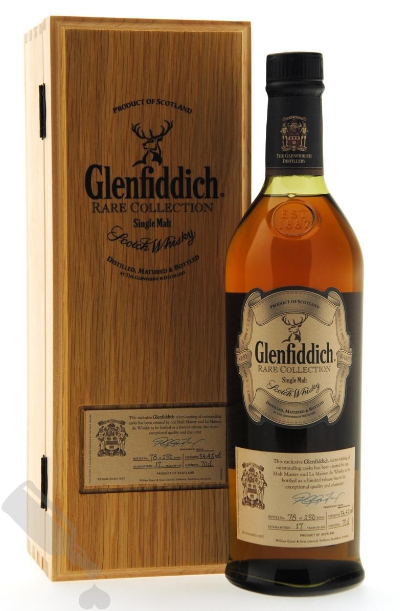 Glenfiddich 17 years Rare Collection