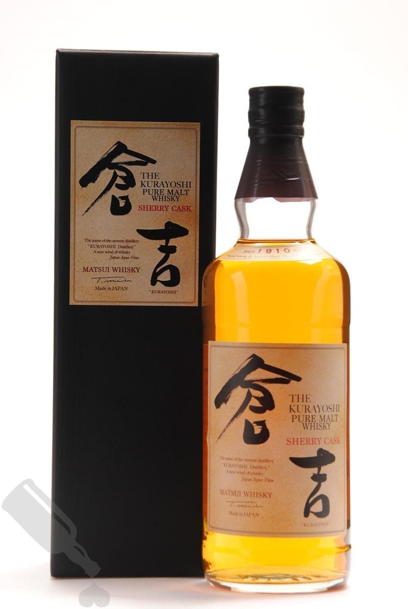The Kurayoshi Sherry Cask