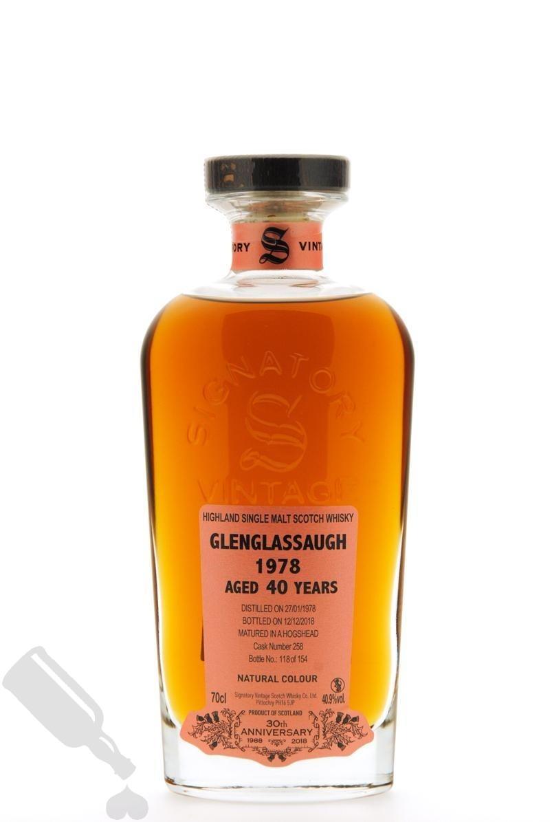 Glenglassaugh 40 years 1978 - 2018 #258 30th Anniversary