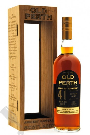 Old Perth 41 years 1977 Single Cask Limited Batch Release