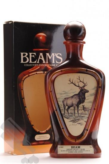 Beam's Collector's Edition Volume XVII The Elk 75cl - Ceramic Old Bottling
