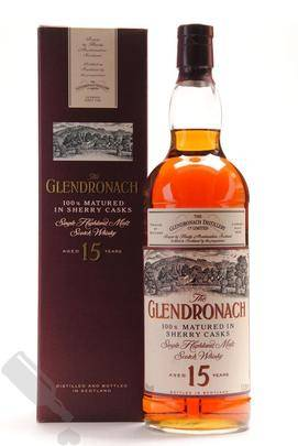 Glendronach 15 years 100cl - Old Bottling