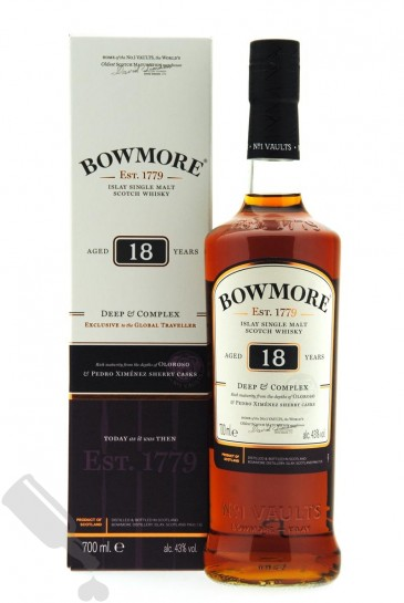 Bowmore 18 years Deep & Complex