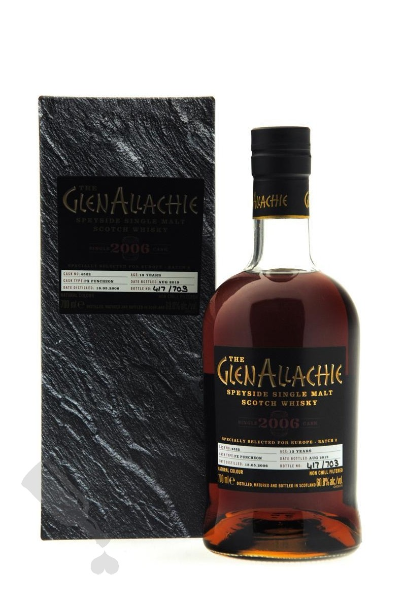 GlenAllachie 13 years 2006 - 2019 #4522 For Europe - Batch 2