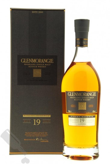 Glenmorangie 19 years Finest Reserve