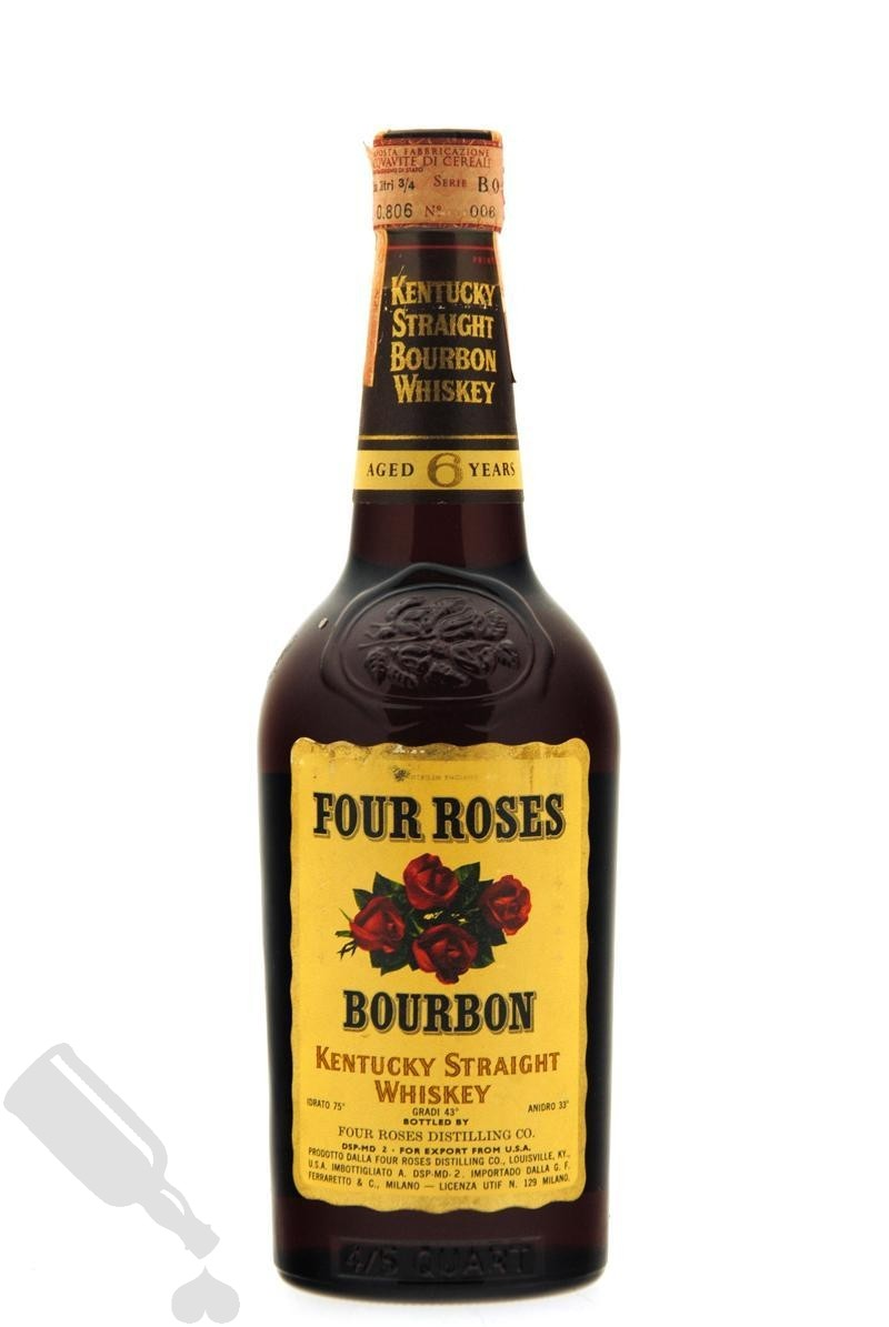 Four Roses 6 years 75cl - bot.1960's