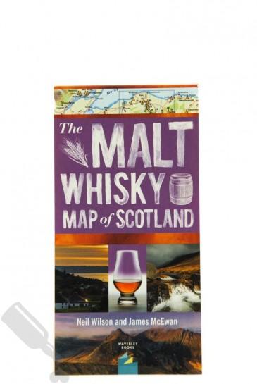 The Malt Whisky Map Of Scotland 2019