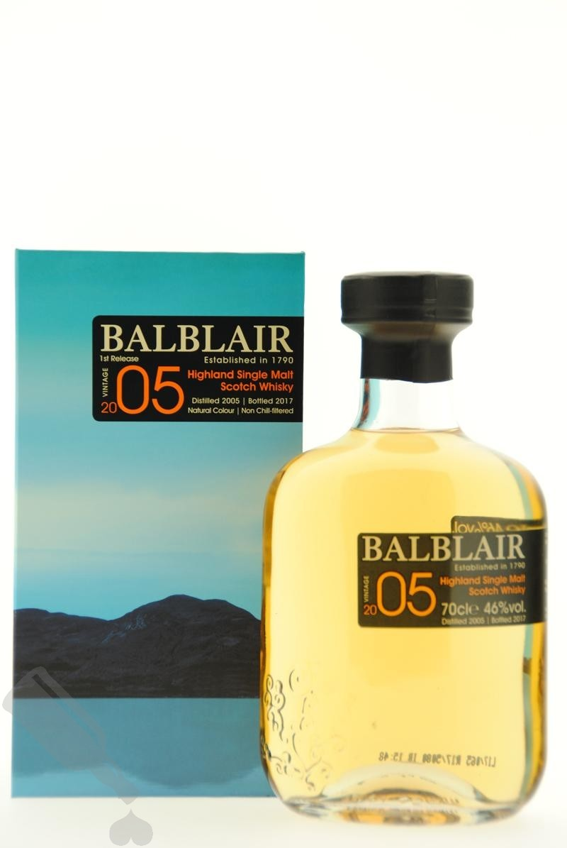 Balblair 2005 - 2017 1st Release