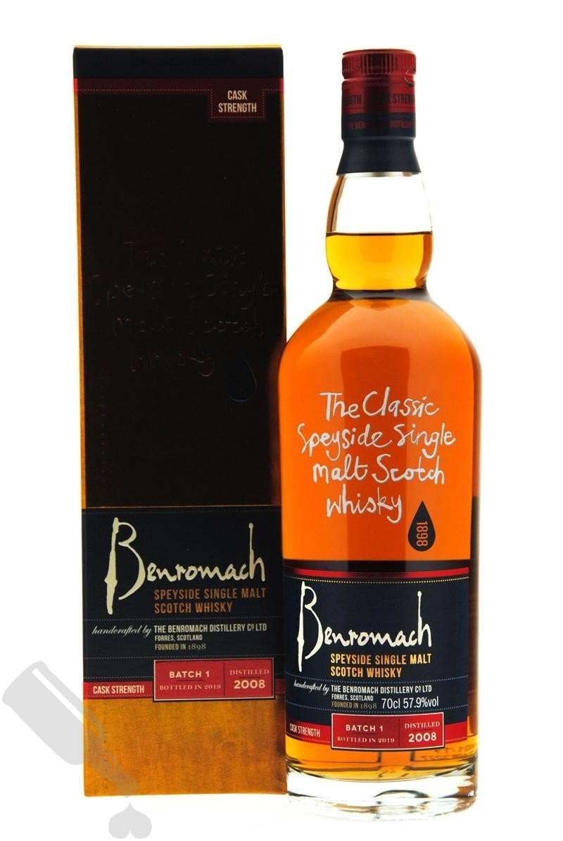Benromach Cask Strength 2008 - 2019 Batch 1