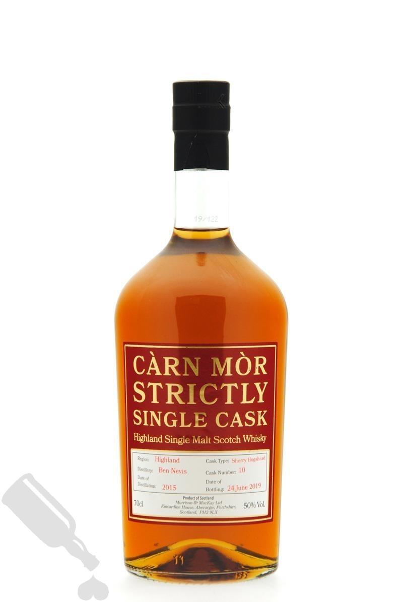 Ben Nevis 2015 - 2019 #10 Strictly Single Cask
