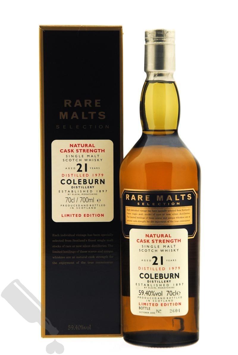 Coleburn 21 years 1979 - 2000