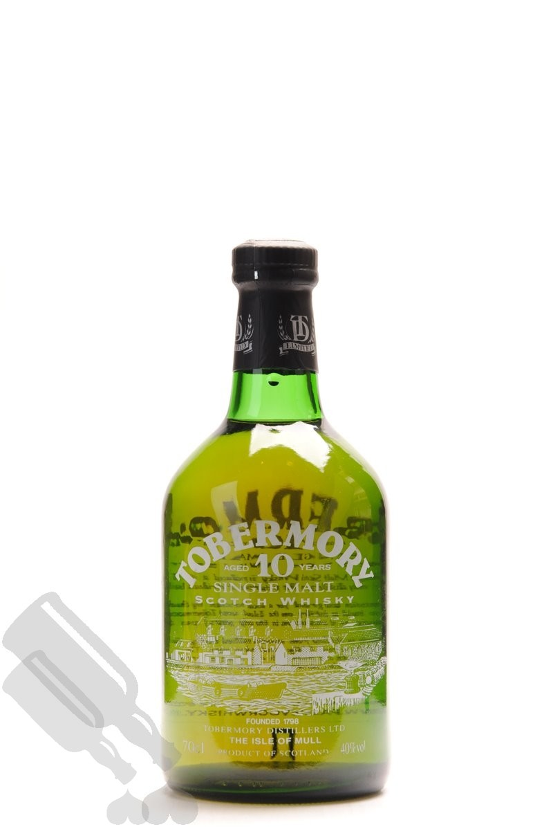 Tobermory 10 years - Old Bottling