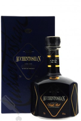 Auchentoshan 22 years - Blue Ceramic Decanter