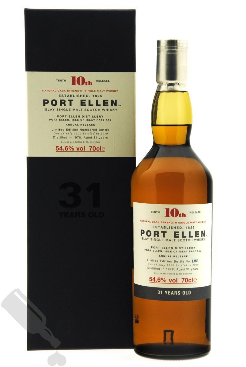 Port Ellen 31 years 1978 - 2010 10th Release
