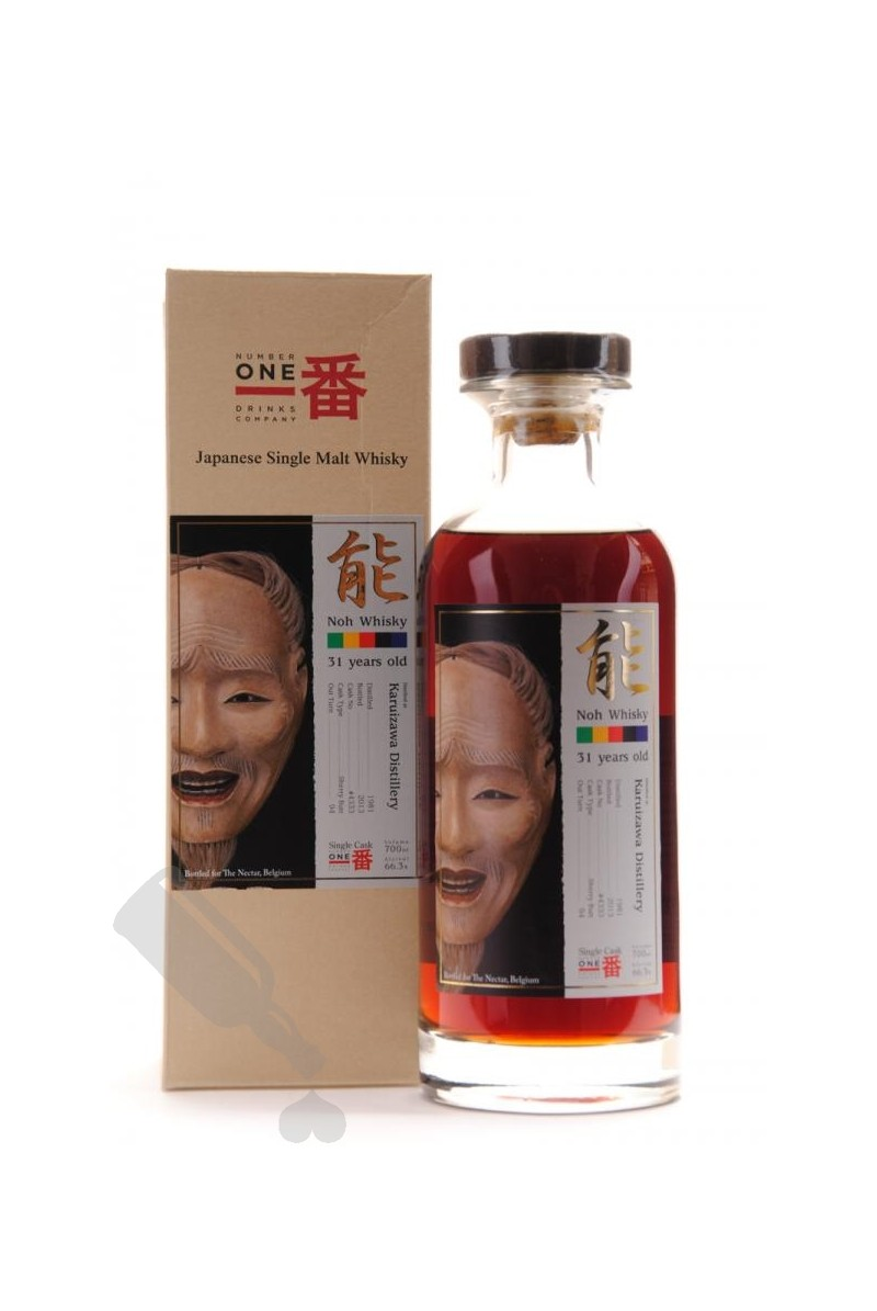 Karuizawa 31 years 1981 - 2013 #4333 Noh Whisky
