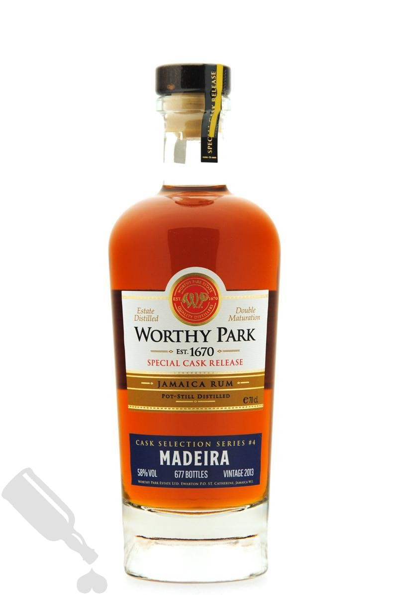 Worthy Park 2013 - 2018 Cask Selection Series #4 Madeira