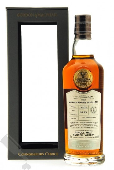 Mannochmore 15 years 2003 - 2019 Cask Strength