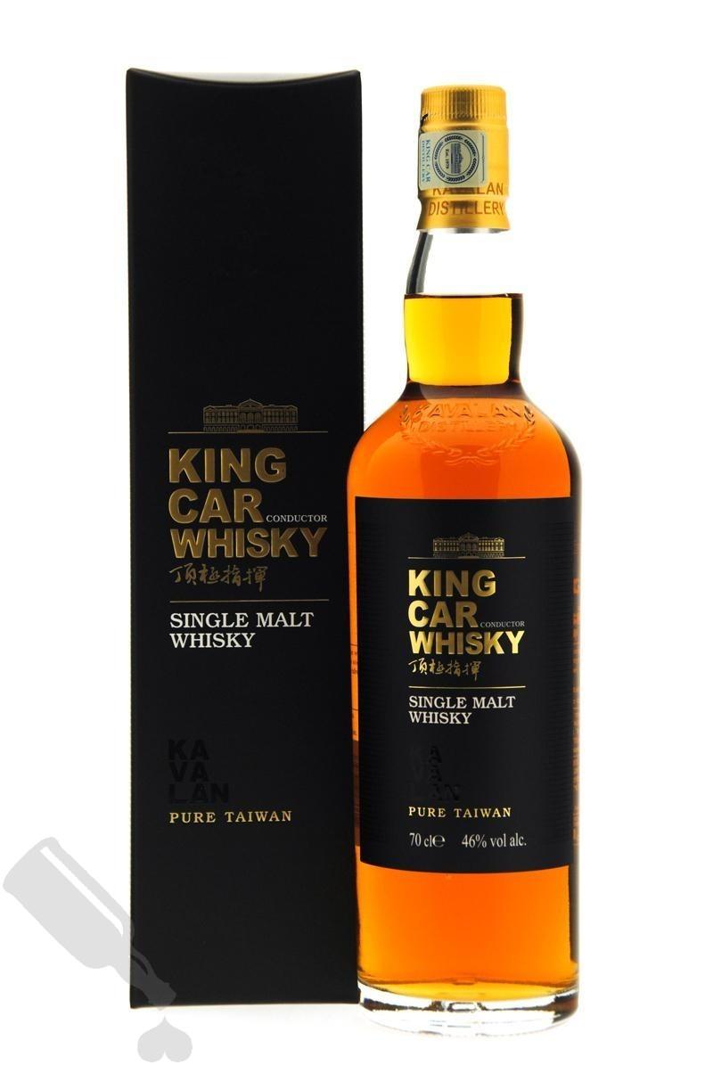 Kavalan King Car Whisky Conductor