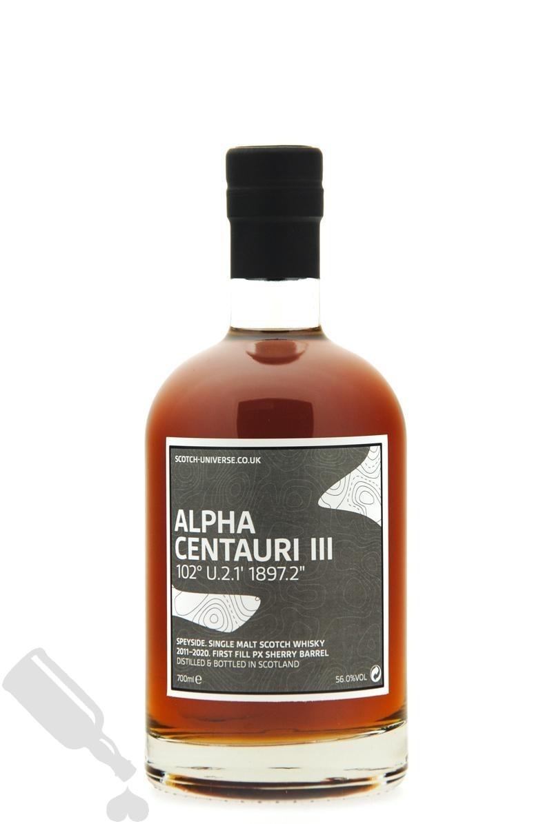 Alpha Centauri III 2011 - 2020 First Fill PX Sherry Barrel