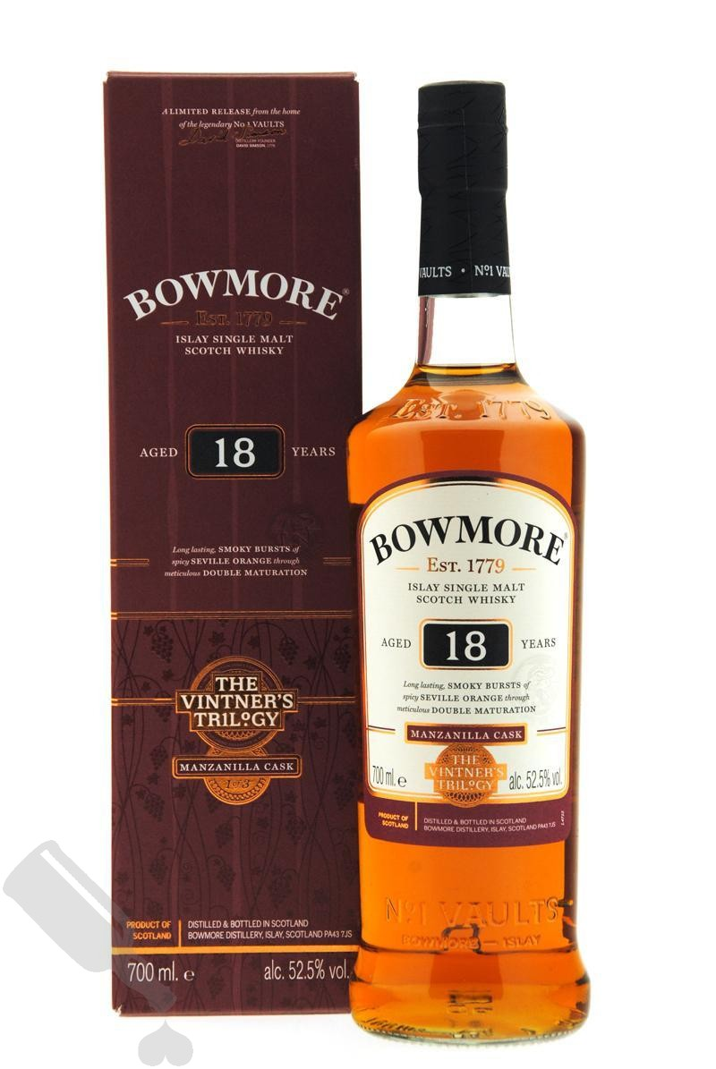 Bowmore 18 years Manzanilla Cask - The Vintner's Trilogy No.1