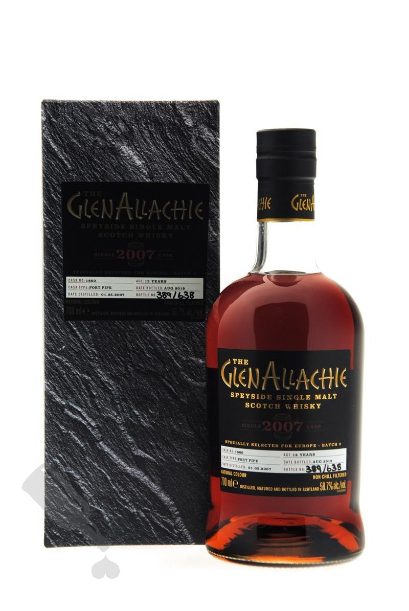 GlenAllachie 12 years 2007 - 2019 #1860 For Europe - Batch 2