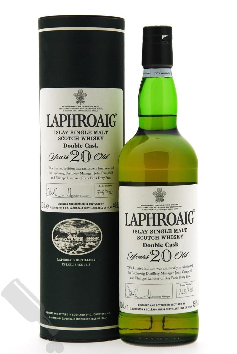Laphroaig 20 years Double Cask