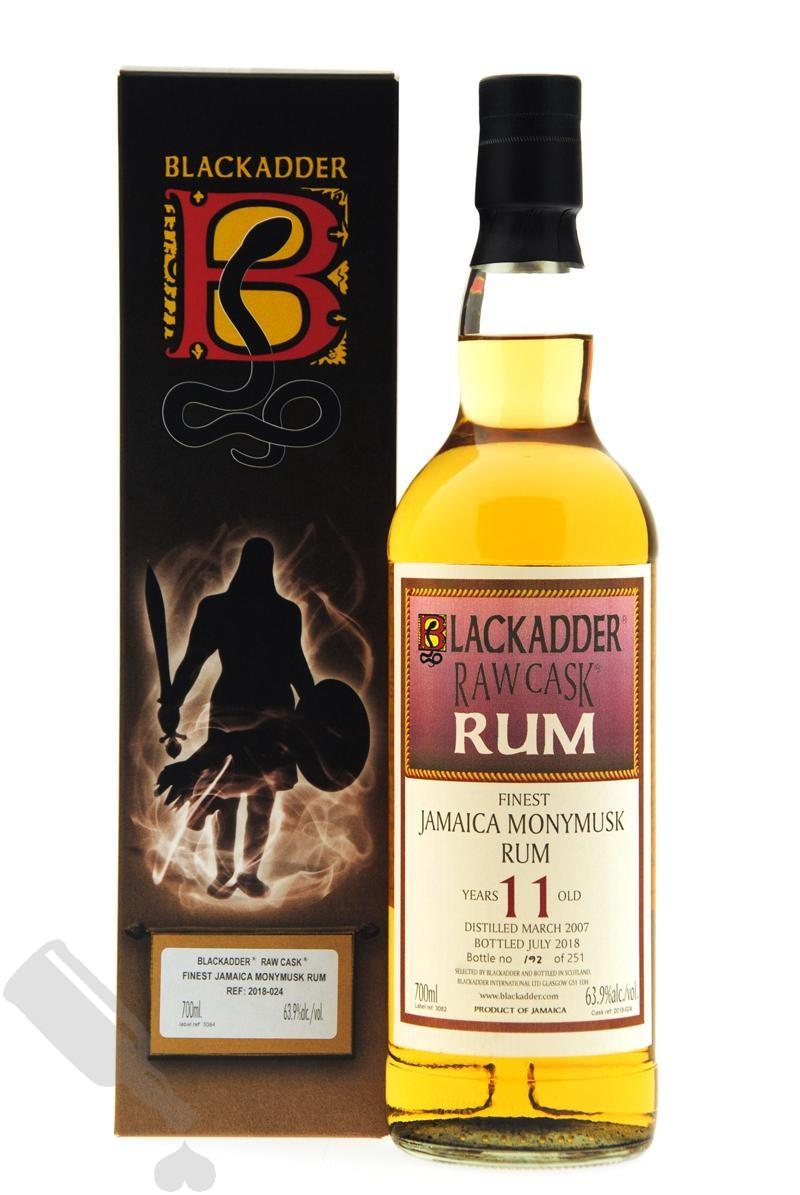 Monymusk 11 years 2007 - 2018 #2018-024 Blackadder Raw Cask