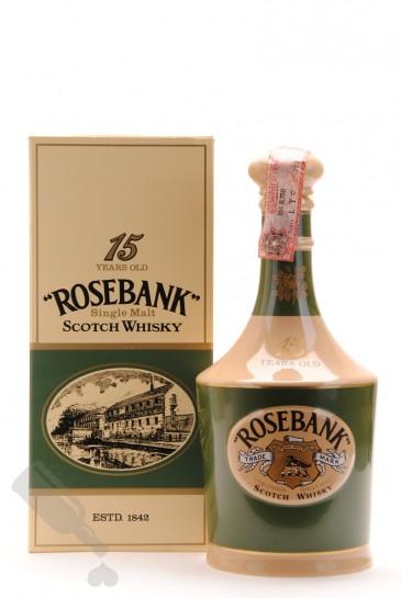 Rosebank 15 years 75cl - Old Ceramic Bottling
