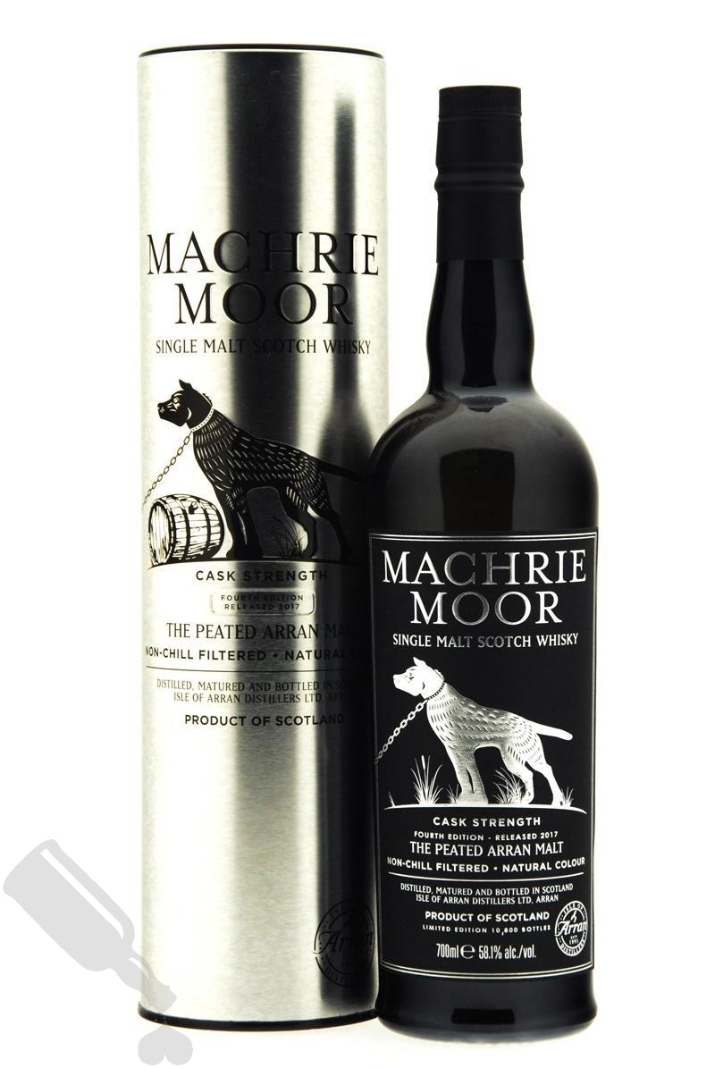 Arran Machrie Moor Cask Strength Fourth Edition Released 2017