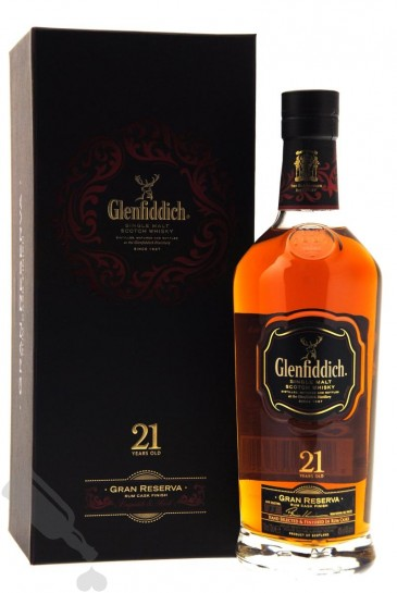 Glenfiddich 21 years Gran Reserva Batch 33