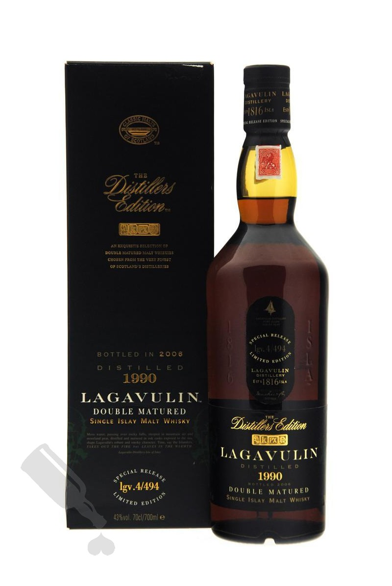 Lagavulin 1990 - 2006 The Distillers Edition