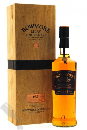 Bowmore 28 years 1981 - 2010 Vintage Edition
