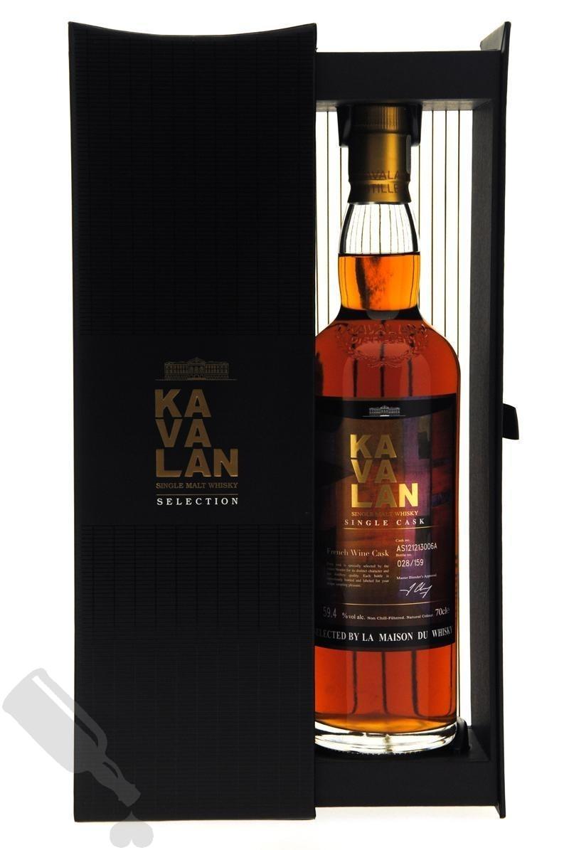 Kavalan French Wine Cask for La Maison Du Whisky