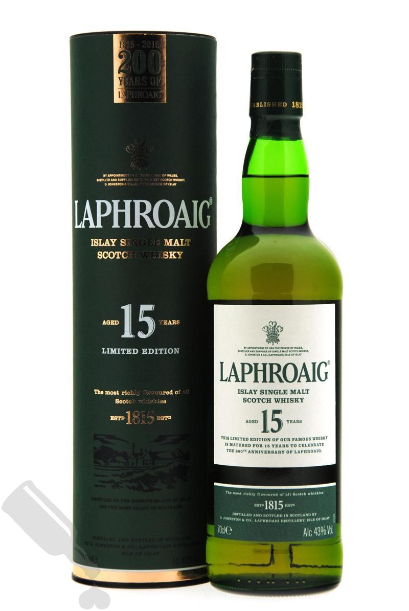 Laphroaig 15 years 200th Anniversary