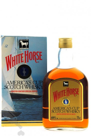 White Horse America's Cup 1987 Limited Edition Special Blend - Old Bottling 75cl