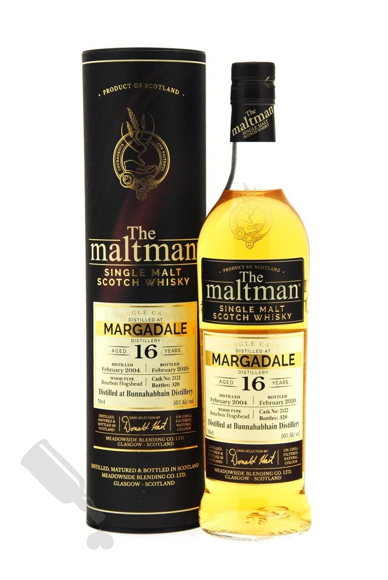Bunnahabhain Margadale 16 years 2004 - 2020 #2122