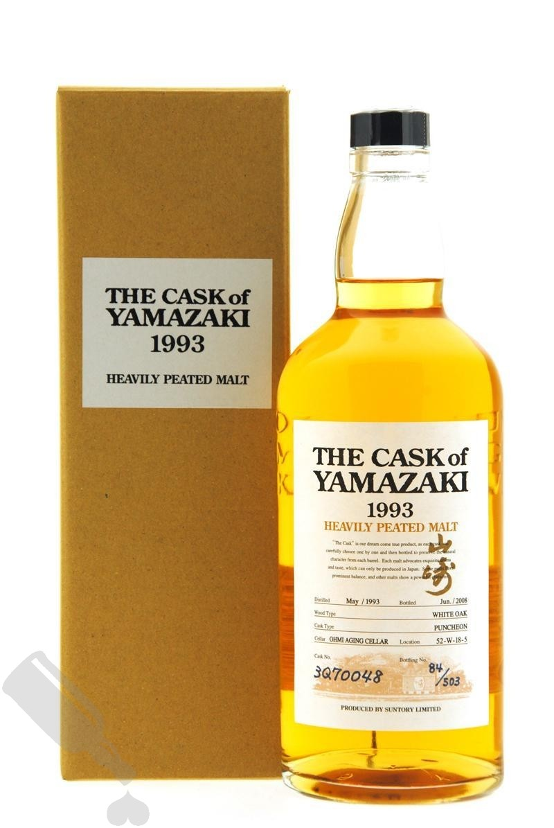 Yamazaki 1993 - 2008 #3Q70048 Heavily Peated Malt