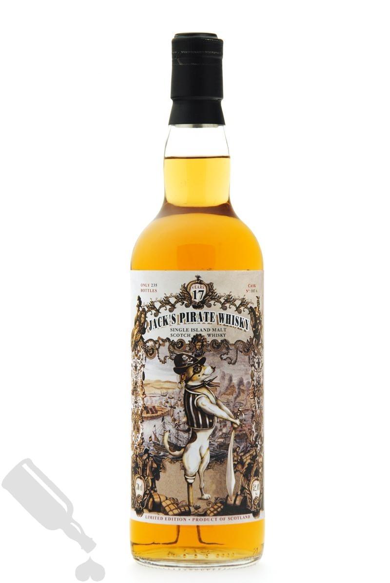 Jack's Pirate Whisky 17 years 2017 #103A Das Gestohlene Schiff Part XIII