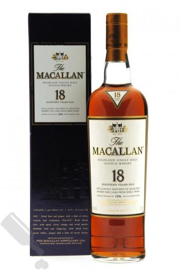 Macallan 18 years 1996