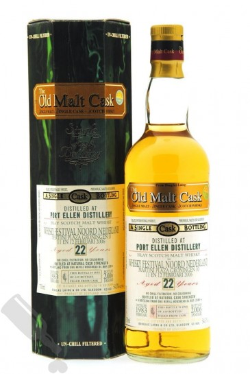 Port Ellen 22 years 1983 - 2006 #2398 for Whisky Festival Noord Nederland