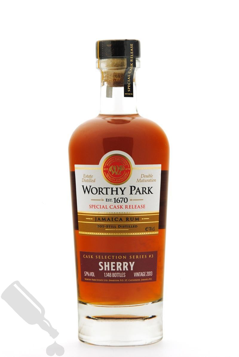 Worthy Park 2013 - 2018 Cask Selection Series #3 Sherry