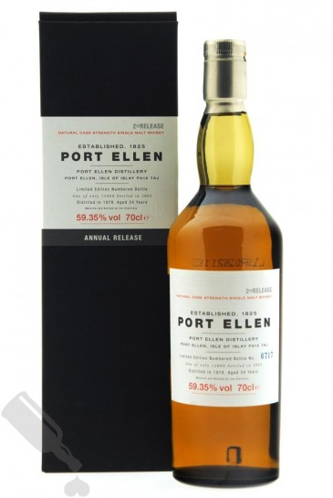 Port Ellen 24 years 1978 - 2002 2nd Release